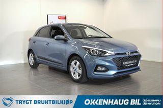 Hyundai i20 1.0 Turbo TEKNIKK / SE KM! / VARME I RATT / DAB / NAVI  2019, 761 km, kr 185800,-