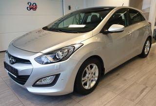 Hyundai i30 1.6 Gdi AUT 120HK PREMIUM PANORAMA  2013, 63500 km, kr 134900,-