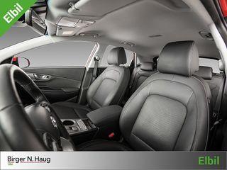 Hyundai Kona 64 kWt Teknikk KUN 4390 KR/ MND MED LADEBOKS INKLUDERT!  2019, 22500 km, kr 349900,-