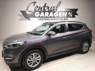 Hyundai Tucson 2.0 CRDi AUTOMAT/ AWD/ PANORAMA/ SKINN/ HENGERFESTE++  2016, 32740 km, kr 309000,-
