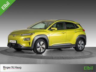 Hyundai Kona 64 kWt Teknikk Se her! Denne klarer nesten 500KM!  2019, 33027 km, kr 359900,-