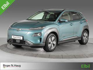 Hyundai Kona 64 kWt Teknikk LAV KM! TOPPUTSTYRT - OMGÅENDE LEVERING  2019, 4758 km, kr 379900,-