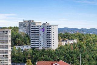 PÅMELDINGSVISNING 1/4 FRA KL 17!  Nedre Tinnheia - Trivelig 2-roms leilighet, fin utsikt, ypperlig for førstegangskjøper