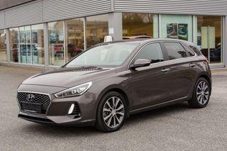 Hyundai i30 1,4 Turbo 140hk Teknikkpakke automat Lav KM  2018, 23900 km, kr 227000,-