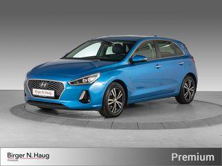 Hyundai i30 1,4 T-GDi Teknikkpakke aut - Hjemlevering-  2018, 21510 km, kr 224900,-
