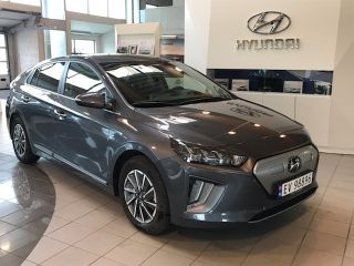 Hyundai Ioniq EV 38,3 kwh Premium med skinnseter vinterhjul Norsk  2020, 4000 km, kr 309900,-