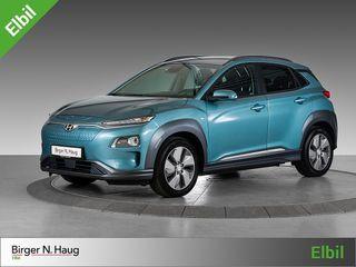 Hyundai Kona 64 kWt Teknikk FRI HJEMMELEVERING* / INK. HJEMMELADER!*  2019, 8528 km, kr 379900,-