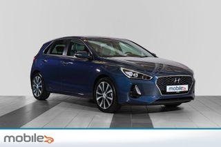 Hyundai i30 1,0 T-GDi Eco Teknikkpakke Navigasjon, handsfree, dab.Mm  2018, 24500 km, kr 199900,-