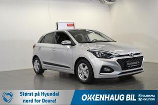 Hyundai i20 1.0  AUTOMAT TEKNIKK / AUTOMAT / SE KM! / NY SERVICE /  2019, 11 km, kr 204800,-