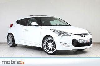 Hyundai Veloster 1,6 GDi 140Hk Premium Sport -1.Eier!-Lav Km!-Unik Bil!  2012, 69011 km, kr 108900,-