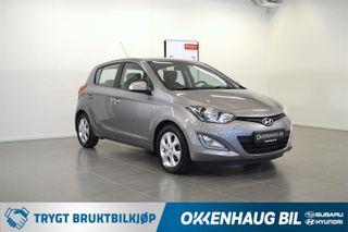 Hyundai i20 1.2 NYBILGARANTI / DAB+ / 2 SETT DEKK /  2013, 63861 km, kr 79800,-