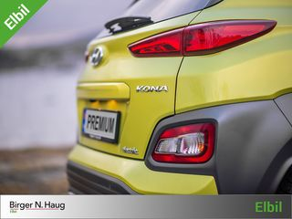 Hyundai Kona 64 kWt Teknikk GRATIS FRAKT I HELE NORGE! 449 KM!  2019, 13000 km, kr 349900,-
