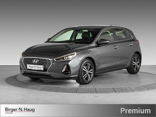 Hyundai i30 1,4 T-GDi Teknikkpakke aut TEKNIKKPAKKE/RYGGEKAMERA  2017, 26500 km, kr 229000,-