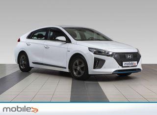 Hyundai Ioniq Hybrid Teknikk Ventilerte skinnstoler, navigasjon, dab.Mm  2017, 55500 km, kr 194900,-