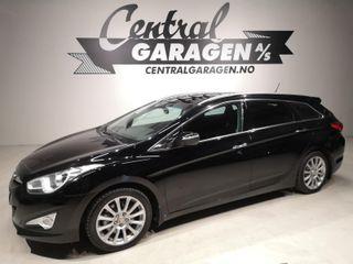 Hyundai i40 1.7  EU-GODKJENT TIL 2022/ DIESEL/ LAV KM/ BILLIG++  2012, 158125 km, kr 59000,-