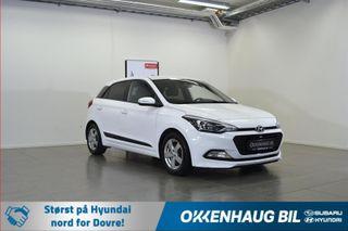 Hyundai i20 1.0 Lave driftskosnader / Varme i seter og ratt  2018, 44000 km, kr 139800,-