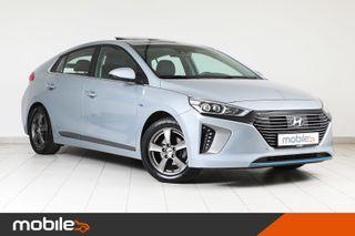 Hyundai Ioniq 1,6 141Hk Teknikkpakke m/Skinn & Soltak -1.Eier!!  2017, 46475 km, kr 208900,-