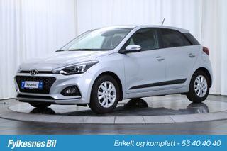 Hyundai i20 1,0 T-GDI Teknikkpakke  2019, 13700 km, kr 179900,-