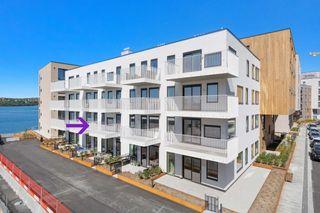 Ny og flott 2 roms eierleilighet med stor veranda - Heis