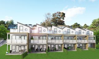 Velkommen til Lenes Ås i Langesund. 12 moderne leiligheter. Ett rekkehus og en leilighet igjen.