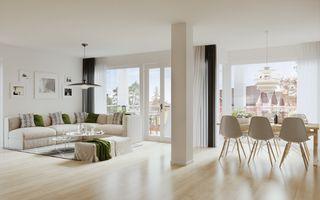 9 helt nye og prisgunstige leiligheter i Butikkhuset i gågata i Vennesla sentrum. 1 SOLGT.