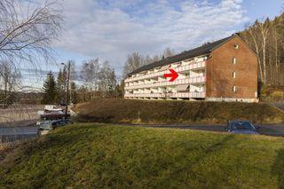 Solrik og tiltalende 2-roms leilighet - egner for studenter og førstegangskjøpere.