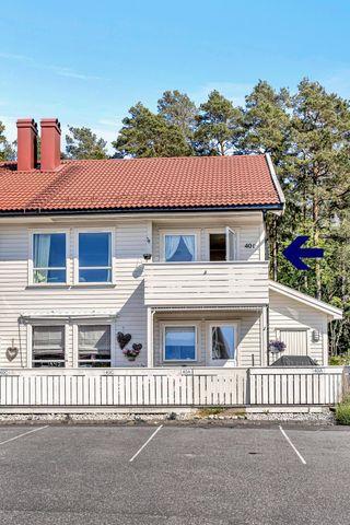 Andelsleilighet med fin veranda - sentralt på Tromøy - Høyåshei