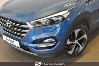 Hyundai Tucson 2.0 CRDI  -4 WD - SKINN - NAVI - HENGERFESTE ++  2016, 64000 km, kr 289000,-