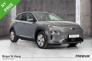 Hyundai Kona 64 kWt Teknikk NY TOPPUTSTYRT KONA TIL BRUKTBIL PRIS?  2020, 4000 km, kr 419900,-