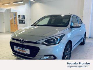 Hyundai i20 1.0 T-Gdi MT JUBILEUM  2017, 27000 km, kr 139000,-