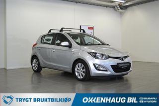 Hyundai i20 1.2  COMFORT Garanti / Setevarme / Ny EU / DAB+ / Lettk  2013, 60000 km, kr 69900,-