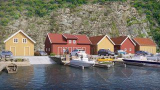 Gitlevåg - Hyttetomter med sjøutsikt. Ingen byggeklausul. Mulighet for båtplass. PÅMELDINGSVISNING 23.07. Fra kl. 14-15.