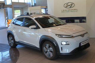 Hyundai Kona 64 kWt Teknikk NORSK - SKINN - INNBYTTE - 480KM!  2019, 34000 km, kr 369900,-