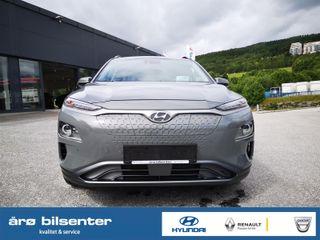 Hyundai Kona 204 HK Premium 3 Fas lading Skinn og soltak Norsk bil  2020, 600 km, kr 439000,-