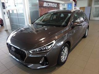 Hyundai i30 1,4 Turbo Aut Plusspakke Stv Navi Kamera Led Krok Defa  2018, 52000 km, kr 229000,-
