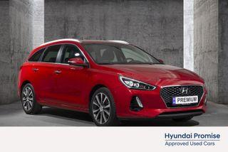 Hyundai i30 1,4 T-GDi Teknikkpakke aut FERIEKLAR STASJONSVOGN!  2018, 32560 km, kr 214900,-