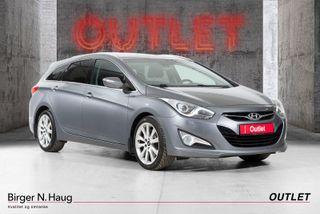 Hyundai i40 1,7 CRDi 136hk Exclusive AT OUTLET-SKINN-EU2022-AUTOMAT  2014, 125310 km, kr 145900,-