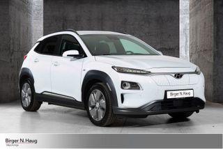 Hyundai Kona Premium Skinn 64kwh(2-sett hjul)  2019, 2573 km, kr 399000,-