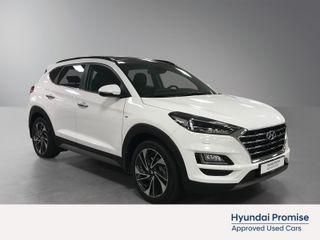 Hyundai Tucson 1,6 CRDi Panorama 4WD automat MildHybrid  2020, 5000 km, kr 499000,-