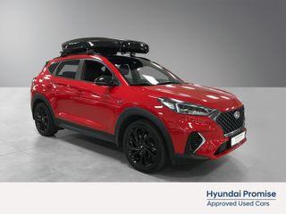 Hyundai Tucson 1,6 T-GDI Panorama 4WD aut N-Line, skiboks  2019, 15400 km, kr 449000,-