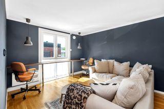 Stilig 2-romsleilighet i moderne farger med sentral beliggenhet.