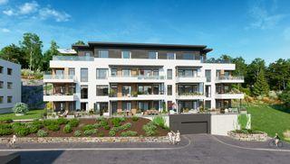 TØNNEVOLLSKOGEN -  Solrike leiligheter sentralt i Grimstad | 2-4-roms | Store uteplasser