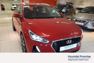 Hyundai i30 140 hk 1,4 T-GDi Plusspakke Automat, Navigasjon, Dab.  2018, 28000 km, kr 239000,-