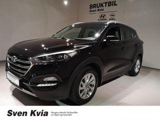 Hyundai Tucson 1.7 141 HK AUTOMAT. PLUSSPAKKE M SKINN.  2017, 41300 km, kr 299000,-