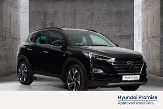 Hyundai Tucson 1,6 CRDi Teknikkpakke 4WD aut TOPPSPEKKET BIL-HENT IDAG  2019, 13800 km, kr 449900,-