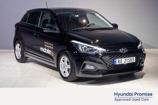 Hyundai i20 1,0 T-GDI Teknikkpakke aut , DEMOBIL, NY SERVICE,  2019, 11000 km, kr 198800,-