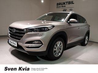 Hyundai Tucson 1.7 116 HK PLUSSPAKKE, NAVI, R.KAMERA, HENGERFESTE  2016, 78000 km, kr 209000,-