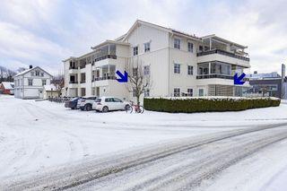 Attraktiv leilighet med sentral beliggenhet på Vessia - Parkeringsplass i kjeller, heis og vinterhage