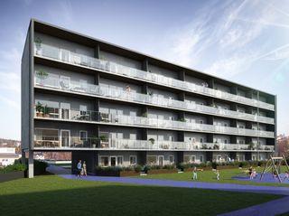 Strømsbu Torg | 34 solrike leiligheter sentralt i Arendal | Salget er i gang!