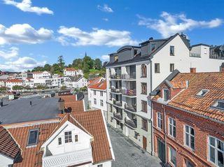 Murgården - Nyoppførte og innflyttingsklare eierseksjoner i Grimstad sentrum.